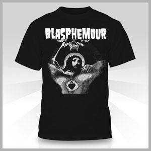 "Danzig ""Jesus Bleeding Light"" Tribut T from Blasphemour Records. BlasTsm"