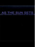 As the Sun Sets - Each Individual Voice CD