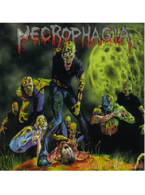 Necrophagia - Season of the Dead CD