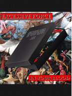 Excessive Force - In Your Blood Cassette w/ Foil Printed Box and Download Card