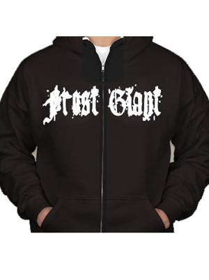 "Frost Giant ""Giant""  Zip Up Hooded Sweatshirt"