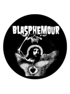 Blasphemour Records - Danzig Rip Button