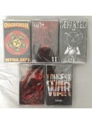 5 Cassettes for $10ppd Option A USA ONLY