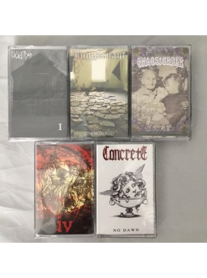 5 Cassettes for $10ppd Option B USA ONLY