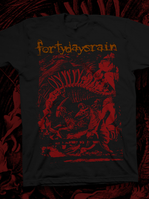 Forty Days Rain - Evolution Tshirt