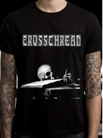 Crossthread Shirt and Blasphemour Enameled Pin