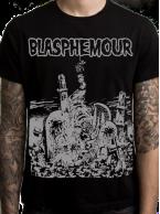 Blasphemour Records - Misfits Rip Tshirt