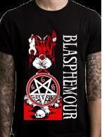 .Blasphemour Records - Natas Rip Tshirt