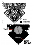 .Blasphemour Records - Logo Soft Enamel Pin (3 options)