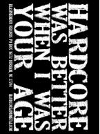 Blasphemour Records - Hardcore Was Better Sticker