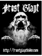 Frost Giant - Giant Sticker