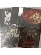 "5 Blasphemour Records 7""s for $20 ppd. USA ONLY"