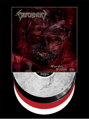 "Deformity ""Murder Within Sin"" 12"" (Multiple Options)"