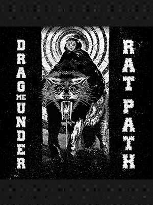 Drag Me Under/Rat Path - Split 12 inch (Blue w/ Yellow Streaks) (Etched B Side)