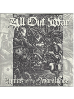 All Out War - Hymns of The Apocalypse 7 inch (Opaque Yellow Vinyl)