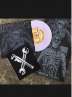 Earth Crisis - Forced To Kill 7 inch (Purple Swirl Vinyl)