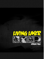 Living Laser - Versus Pigs 7 inch (White Vinyl)