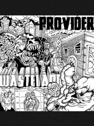 Provider - Wasteland 7 inch (Violet Vinyl)