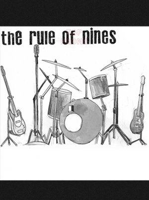 Rule of Nines, The - The Rule of Nines 7 inch (White Vinyl)