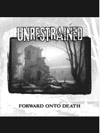 Unrestrained - Forward Onto Death 12 inch (Purple/Grey Vinyl)