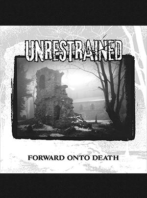 Unrestrained - Forward Onto Death 12 inch (Purple/Grey Vinyl)